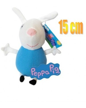 PELUCHE PERSONAGIO PEPPA PIG CM 15 REBECCA CONIGLIO RABBIT