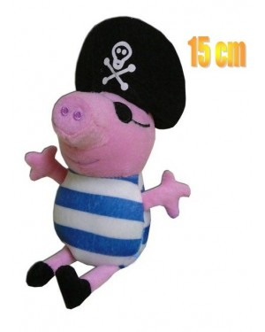 PELUCHE PERSONAGIO PEPPA PIG CM 15 NONNO PIRATA
