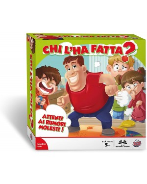 CHI L'HA FATTA GIOCO DI SOCIETA'  - GRANDI GIOCHI GG00183