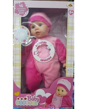 BABY BAMBOLOTTO 40 CM CON 16 VERSI - 43870