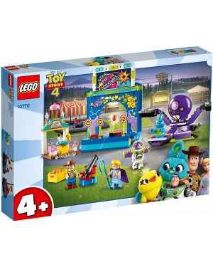 BUZZ E WOODY E LA MANIA DEL CARNEVALE - LEGO JUNIORS TOY STORY 10770