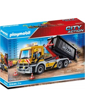 CAMION CON DUE CASSONI CITY ACTION - PLAYMOBIL 70444