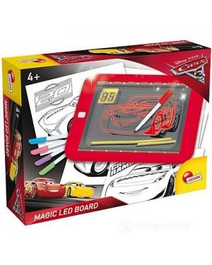 CARS 3 LAVAGNA MAGICA LED FLUO - LISCIANI GIOCHI 62454
