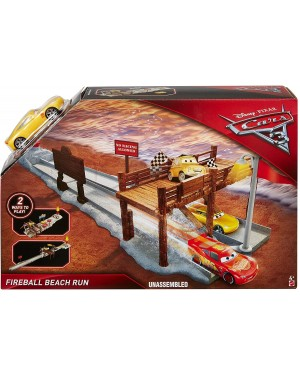 CARS 3 PISTA DI FIREBALL BEACH PLAYSET - DISNEY DVT47
