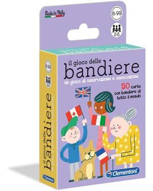 CARTE IL GIOCO DELLE BANDIERE - CLEMENTONI 16564C