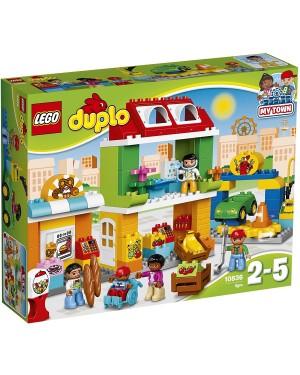 GRANDE PIAZZA IN CITTA' -  LEGO DUPLO 10836