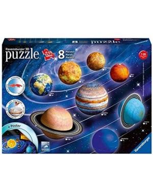 IL SISTEMA PLANETARIO PUZZLE 3D 522 PEZZI- RAVENSBURGER 11668