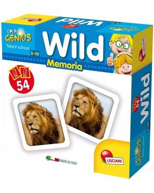 I'M GENIUS MEMORIA GAME WILD ANIMALS - LISCIANI 58938
