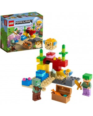 LA BARRIERA CORALLINA - LEGO MINECRAFT 21164