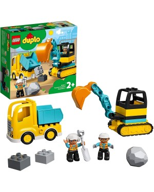 LEGO DUPLO CAMION E SCAVATRICE CINGOLATA - LEGO 10931