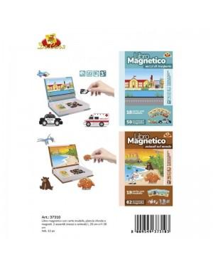 LIBRO CON PUZZLE MAGNETICO - DECAR 37310