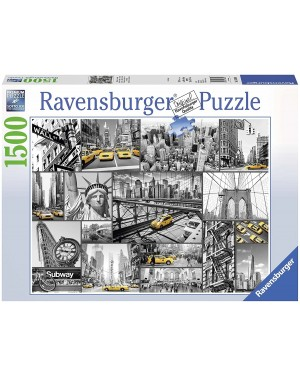 MACCHIE DI COLORE A NEW YORK PUZZLE 1500 PZ - RAVENSBURGER 16354