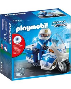MOTO DELLA POLIZIA - PLAYMOBIL CITY ACTION 6923