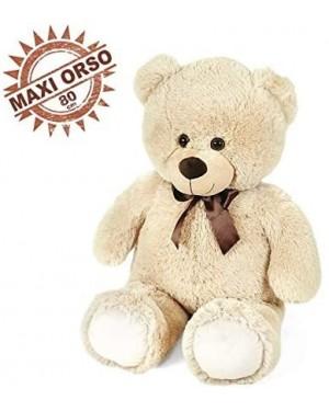 ORSO BEIGE CM 80 CON FIOCCO - 25230