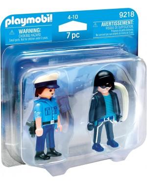 POLIZIOTTO E LADRO - PLAYMOBIL 9218