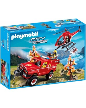 POMPIERI FORESTALI IN MISSIONE- PLAYMOBIL CITY ACTION 9518