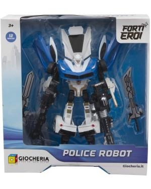 ROBOT TRASFORMABILE POLIZIA COLORI ASSORTITI - GGI190110