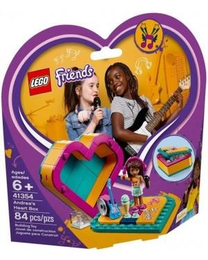 SCATOLA DEL CUORE DI ANDREA - LEGO FRIENDS 41354