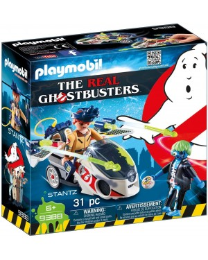 STANZ CON MOTO VOLANTE - PLAYMOBIL THE REAL GHOSTBUSTERS 9388