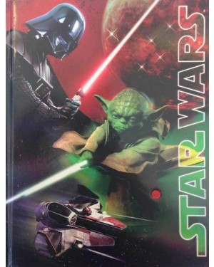 DIARIO GALASSIA LUMINOSO STAR WARS - 87372