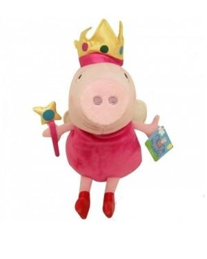 PELUCHE PERSONAGIO PEPPA PIG CM 25 PEPPA PIG FATINA CON BACCHETTA