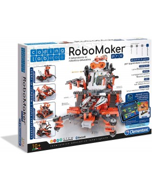 LABORATORIO DEI ROBOT ROBOMAKER CLEMENTONI 13992