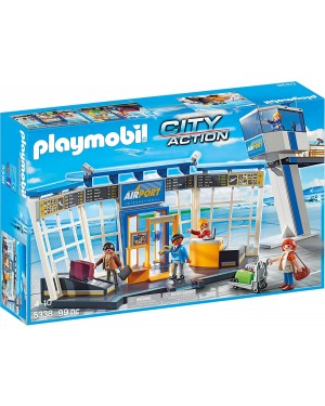 AEREOPORTO CON TORRE DI CONTROLLO - PLAYMOBIL CITY ACTION 5338