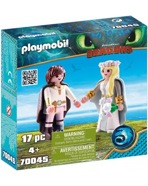 DRAGON TRAINER ASTRID E HICCUP - PLAYMOBIL 70045