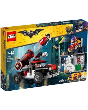 ATTACCO CON IL CANNONE DI HARLEY QUEEN - LEGO SUPER HEROES MARVEL 70921