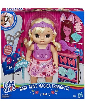 BABY ALIVE MAGICA FRANGETTA - E5241