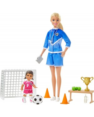 BARBIE FOOTBALL CON SHELLY - MATTEL GLM47