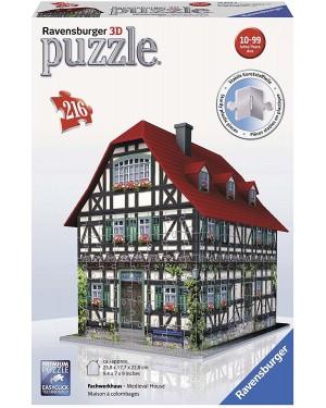 CASA MEDIOEVALE 3D PUZZLE 216 PEZZI - RAVENSBURGER 125722