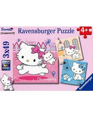 CHARMMY KITTY E LE SUE MIGLIORI AMICHE PUZZLE 3X49 - RAVENSBURGER 09422
