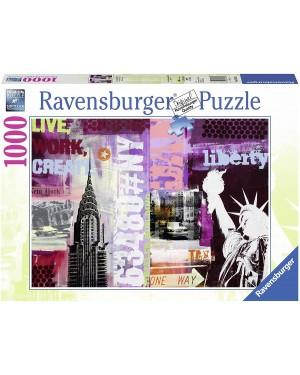 PUZZLE 1000 PZ COLLAGE NEW YORK CITY - RAVENSBURGER 19613
