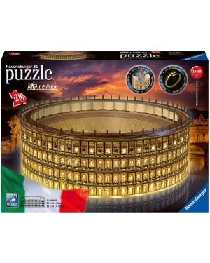 COLOSSEO NIGHT EDITION 3D PUZZLE 216 PEZZI - RAVENSBURGER 11148