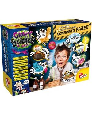 CRAZY SCIENCE IL GRANDE LABORATORIO DELLO SCIENZIATO PAZZO - LISCIANI 77502
