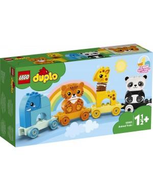 IL TRENO DEGLI ANIMALI - LEGO 10955