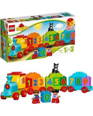 IL TRENO DEI NUMERI - LEGO DUPLO 10847