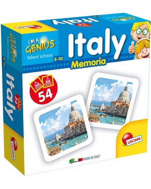 I'M GENIUS MEMORIA GAME ITALY - LISCIANI 58921