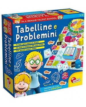 I'M GENIUS TABELLINE E PROBLEMINI GIOCHI EDUCATIVI - LISCIANI 48885