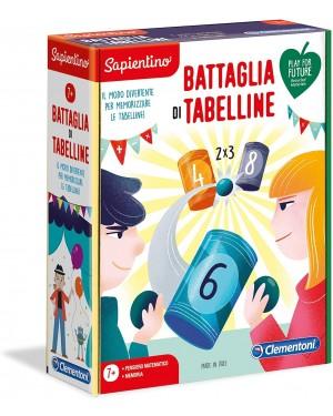 LA BATTAGLIA DELLE TABELLINE EDUCATIVO - CLEMENTONI 16245