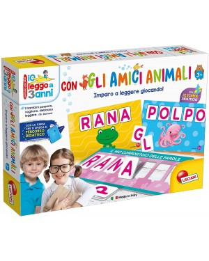LEGGO A TRE ANNI CON GLI AMICI ANIMALI - LISCIANI 65547