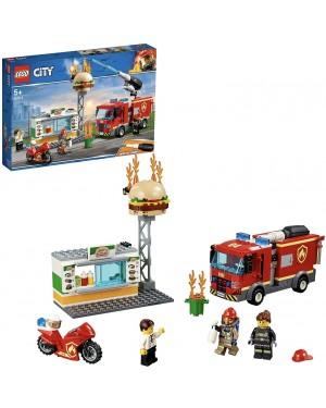 LEGO CITY FIAMME AL BURGER BAR - LEGO 60214