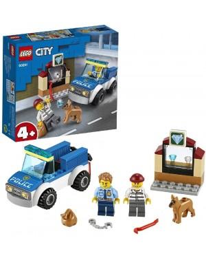 LEGO CITY UNITA' CINOFILA DELLA POLIZIA - LEGO 60241L