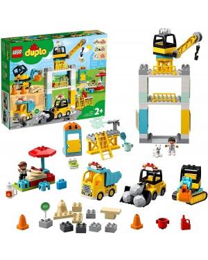 LEGO DUPLO CANTIERE EDILE CON GRU - LEGO 10933