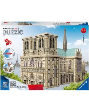 NOTRE DAME PUZZLE 3D BUILDING MAXI 324 PEZZI - RAVENSBURGER 12523