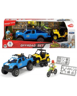 DICKIE OFFROAD PLAYSET LUCI ESUONI - 3838003
