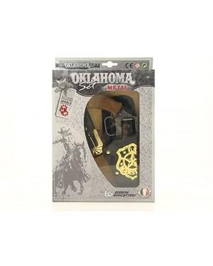 PISTOLA CON FONDINA OKLAHOMA SET W.BOX  METALLO - 0510240