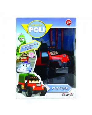 ROBOCAR POLI TRANSFORMABILE POACHER - ROCCO 21737227