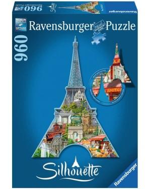TOUR EIFFEL SILHOUETTE PUZZLE 960 PZ - RAVENSBURGER 16152